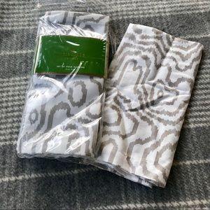 Set of 4 Kate Spade Fabric Napkins ~ NEW